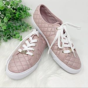Guess Rosey dark Pink Shimmer Sneakers backer2 9.5